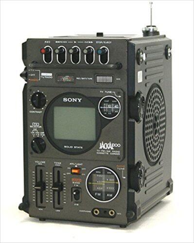 SONY FX-300 JACKAL FIRST JACKAL TV-FM/AM RADIO CASSETTE RECORDER MULTI-FUNCTION