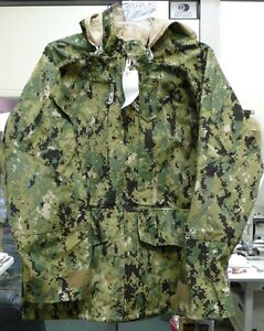 US-NAVY-WORKING-UNIFORM-NWU-AOR-II-TYPE-III-PARKA-JACKET-GORE-TEX-VAR ...