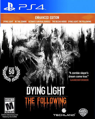 Dying Light  The Following   Enhanced Edition Ps4 New Playstation 4  Playstation