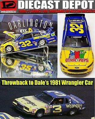 JEFFREY EARNHARDT 2016 OTTER POPS DARLINGTON WRANGLER  #32 1/24 ACTION
