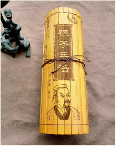 Chinese ancient culture Literature Military Art of war of Sun Tzu in Bamboo
