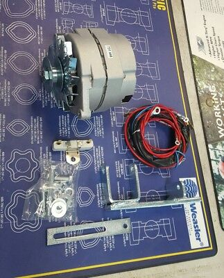Ih Farmall M Super M Mv 400 450 Alternator Conversion Kit 12 Volt W Harness