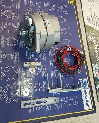 Ih Farmall M Super M Mv 400 450 Alternator Conversion Kit 12 Volt W Harness