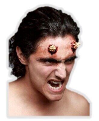 Evil Devil Small Horns Latex Appliance Scary Halloween Demon Prosthetic - Scary Halloween Makeup For Women