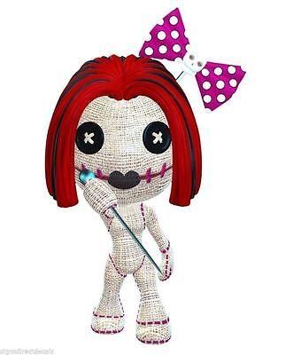 Voodoo Vudoo Vudu Puppe Mädchen Aufkleber Grafik Vinyl Label