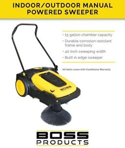 Industrial Sweeper - Both Indoor & Outdoor Use - Sale Price - $998.00!!!
