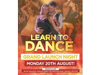 Ceroc Dance Chepstow - Opening Launch Night Monday 20th August