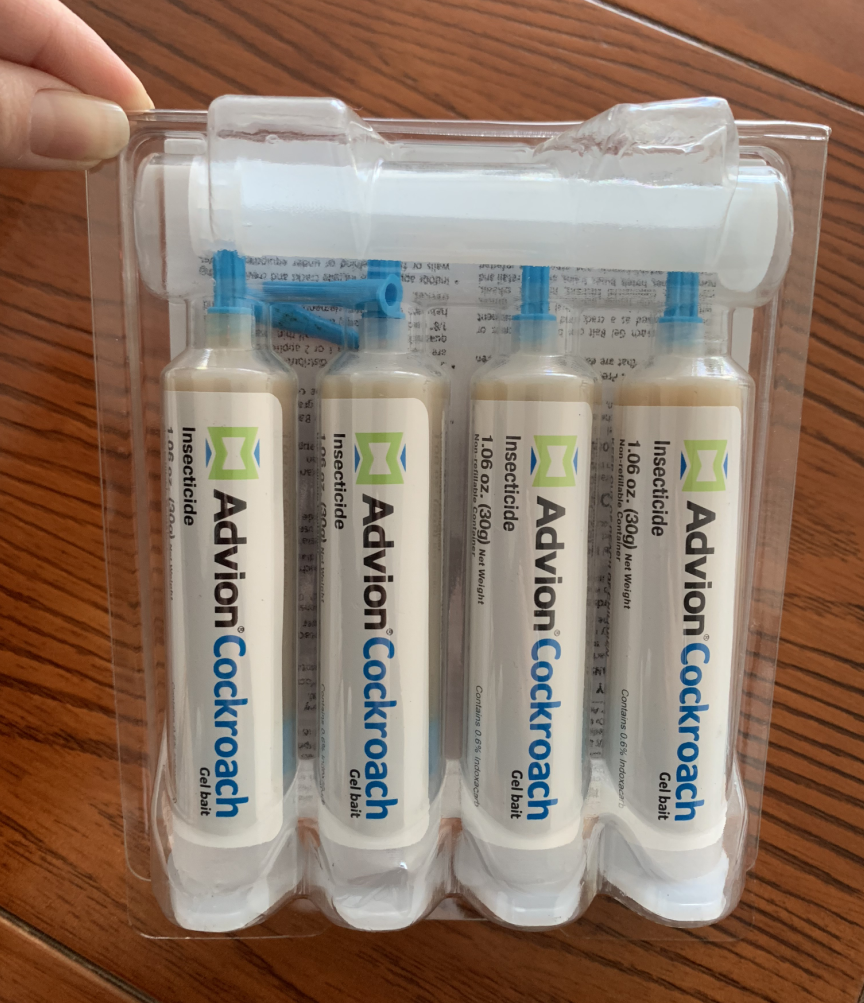 Syngenta Advion Roach Cockroach Killer Bait Gel 4 Tubes with