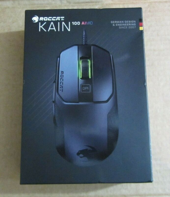 Roccat Kain 100 AIMO PC Gaming Mouse - Intelligent Lighting RGB - NEW