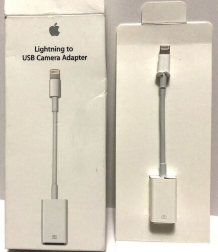 Apple Lightning to USB Camera Adapter MD821AM/A  AUTHENTIC