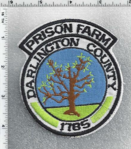 Darlington County Prison Farm (South Carolina) 1st Issue Shoulder Patch