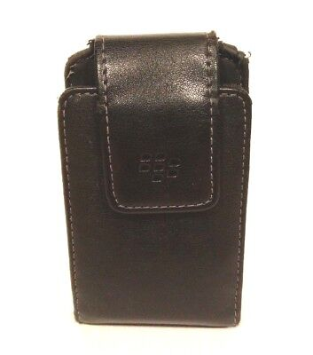 OEM (Original) Vertical Leather Case Pouch with Swivel Belt Clip for BlackBerry Blackberry Leather Vertical Pouch