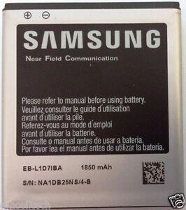 NEW OEM SAMSUNG EB-L1D71BA Battery for Samsung Galaxy S2 i727 L700 T989 1850mAh