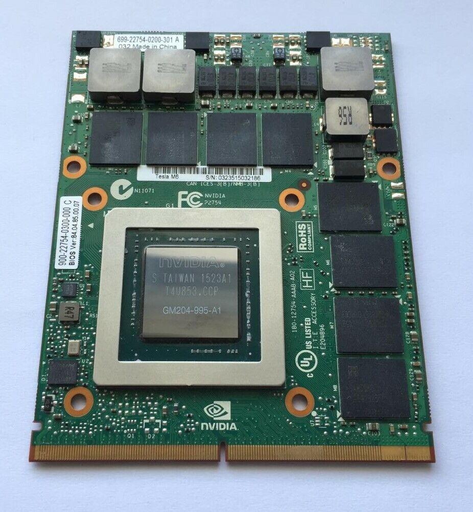 HP NVIDIA TESLA M6 Grafik Karte 8GB PC Server  Laptops 808409-001 806127-001