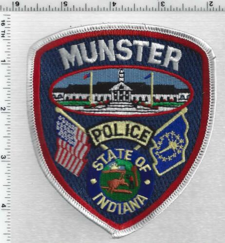 Munster Police (Indiana) 3rd Issue Shoulder Patch
