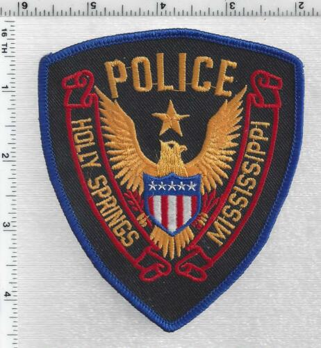 Holly Springs Police (Mississippi) 1st Issue Shoulder Patch