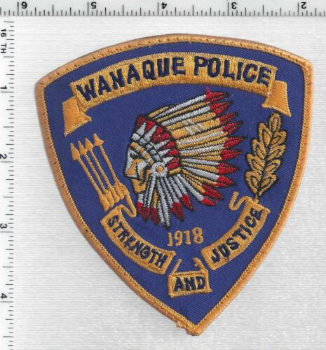 Wanaque Police (New Jersey) 5th Issue Uniform Take-off Shoulder Patch