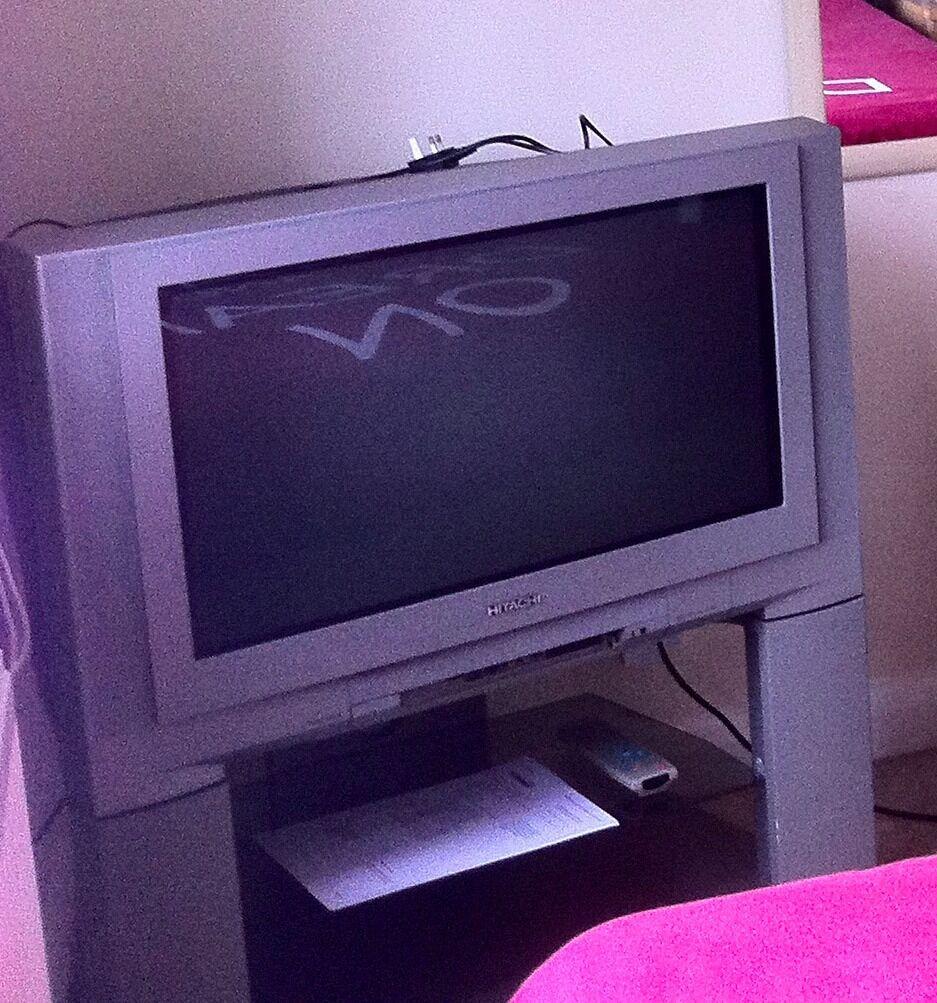 hitachi flat screen tv manual