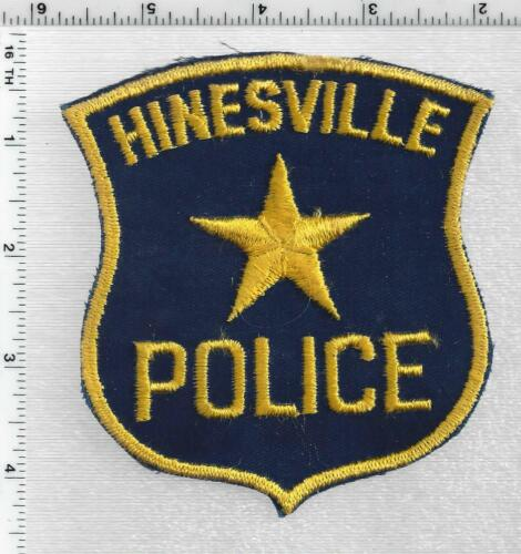 Hinesville County Police (Georgia) 1st Issue Shoulder Patch