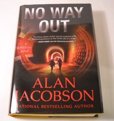 No Way Out - Limited Edition #313 / 500 - SIGNED by Alan Jacobson (B239)](No Way Out Sign)
