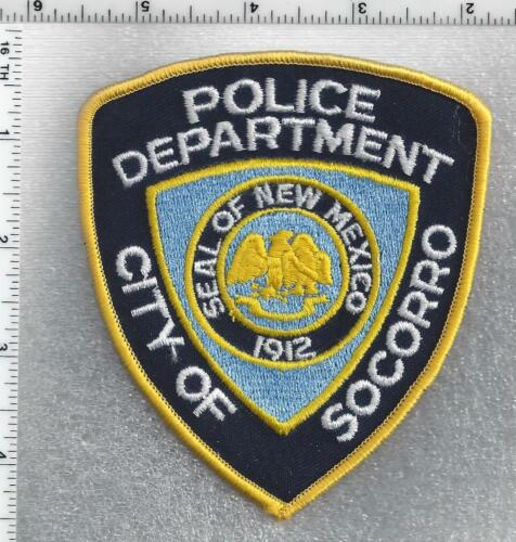 City of Socorro Police (New Mexico) 3rd Issue Shoulder Patch