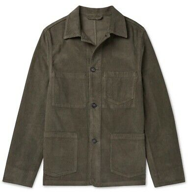 Officine Generale CORDUROY CHORE JACKET Workwear Worker Utility Overshirt £270