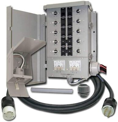 Connecticut Electric Egs107501g2kit 30 Amp Manual Transfer Switch Kit