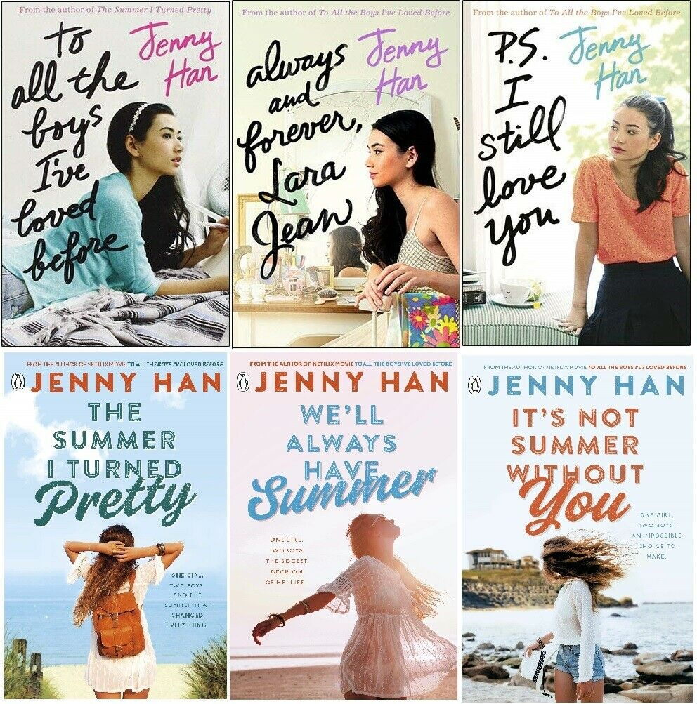 Jenny Han To All The Boys I Ve Loved And The Summer 6 Books Collection Set 9789526537535 Ebay