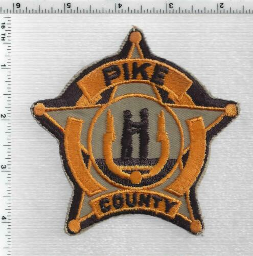 Pike County Police (Kentucky) 3rd Issue Shoulder Patch