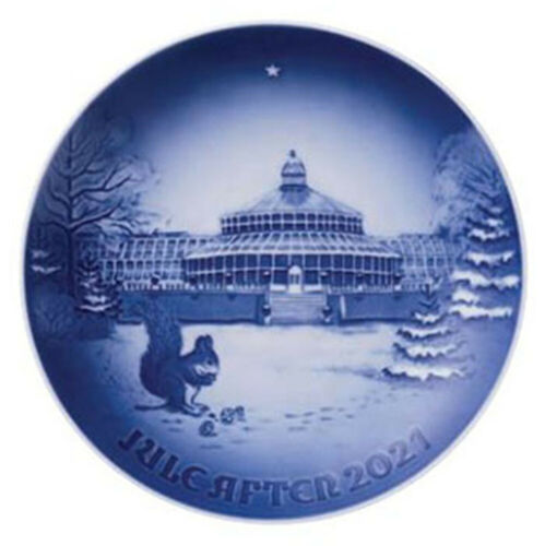 NEW IN BOX! 2021 Bing & Grondahl Christmas Plate | FACTORY FIRST QUALITY DENMARK