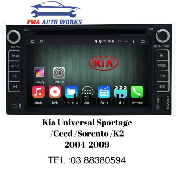 Car Dvd Gps Reverse Camera Kia Sportage Grand Carnival Rondo Audio