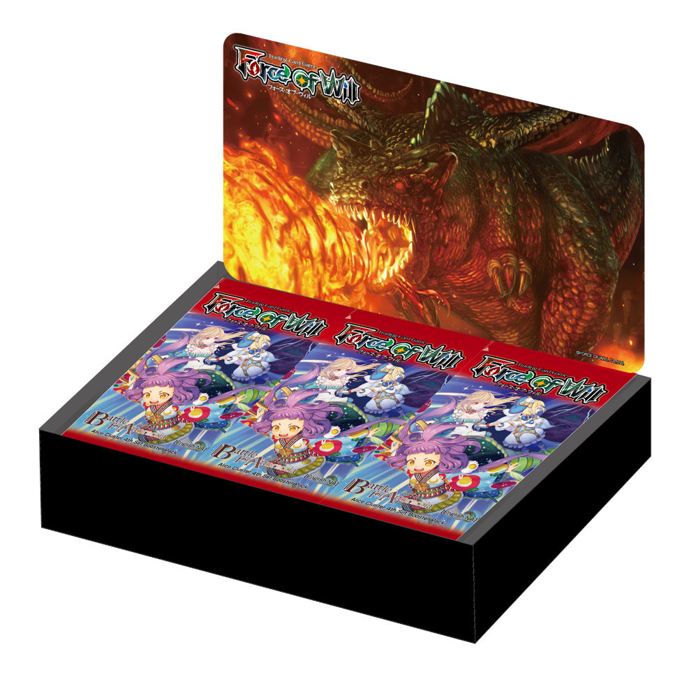 FOW Battle for Attoractia Sealed Booster Box 36 Packs Force of Will