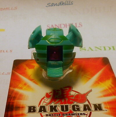 Bakugan Manion Green Ventus B1 Classic 630G Factory Error & cards