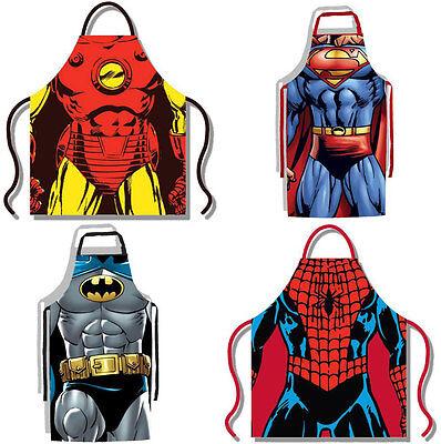 Marvel / Dc Comics: Kostüm Schürze - Neu - Marvel Superman Kostüm