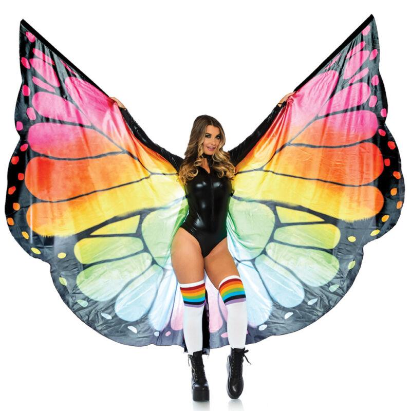 Leg Avenue Festival Butterfly Wing Halter Cape, One Size - LA-A2782