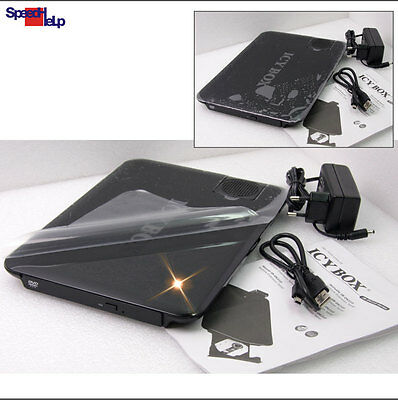 Docking Station Alloggio USB PER SSD HDD CD DVD-ROM RW Masterizzatore Notebook
