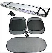Foldable Car Front Rear Windshield Sunshade Sun Shade