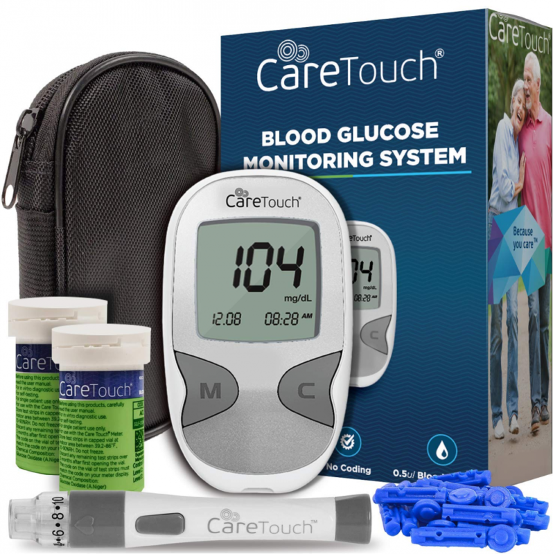 care touch diabetes testing kit care touch