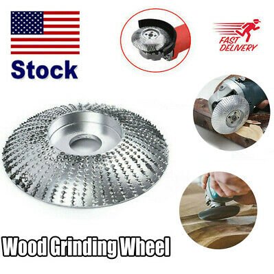 "3.3"" Carbide Wood Sanding Carving Shaping Disc For Angle Grinder Grinding Wheel Abrasive Wheels"