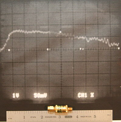 Microphase Cmv 3812 Rf Detector 8 12 Ghz Positive Output Tested And Working