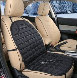 Zento Deals 12V Thickening Heated Car Seat Heater Chair Cushion Warmer Cover Pad