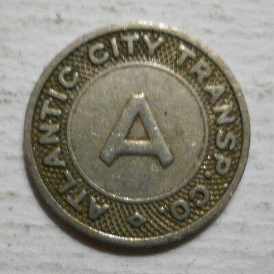 Atlantic City Transportation Company (New Jersey) transit token - NJ20E (Party City Atlantic)