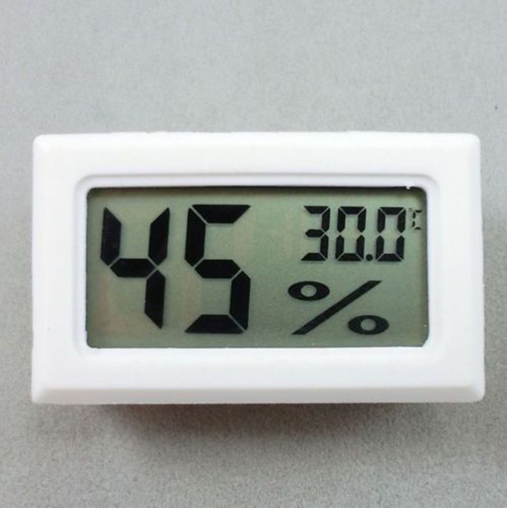 Wh Mini Digital LCD Indoor Temperature Humidity Meter Thermometer Hygrometer c