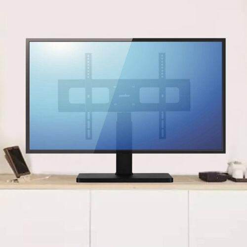 Reinforced Steel Base TV Stand Tabletop Swivel TV Mount Brac