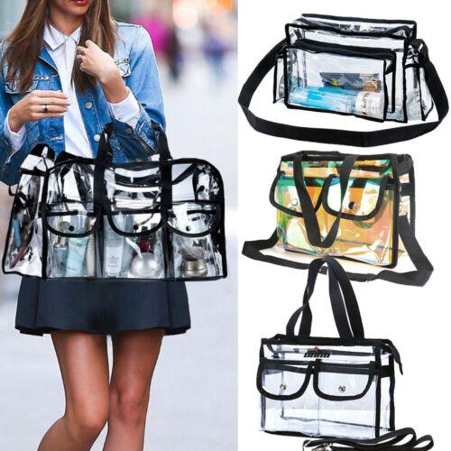 clear plastic tote bag women transparent pvc