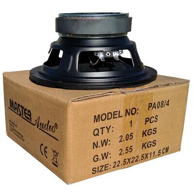 MASTER AUDIO PA08/4 diffusore da 20,00 cm 200 mm 8