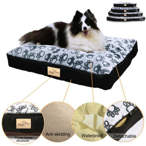 Waterproof Dog Bed Extra Large Washable Mat Jumbo Big Pet XX