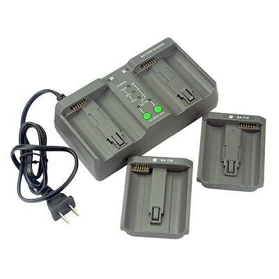 DSTE MH-26A Dual Battery Charger For Nikon EN-EL18 LP-E4 Battery