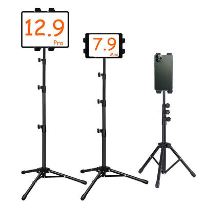 Height Adjust Floor Bed Stand Mount Holder for IPAD Pro 12.9 Tablet/Kindle/Nexus