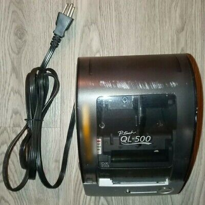 Brother P-touch Ql-500 Pc Label Printer Power Tested